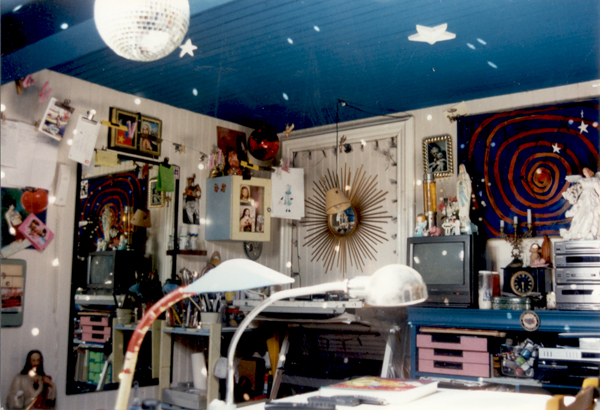 Atelier d'artiste du peintre contemporain Jérémie Baldocchi, de 1994 à 1997