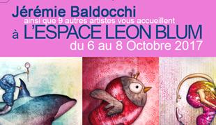 Exposition collective: Espace Léon Blum – Paris du 6 au 8 Octobre 2017