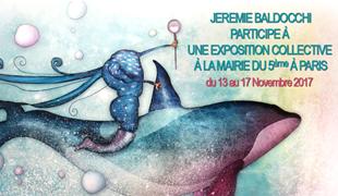Exposition collective: Mairie du 5ème – Paris du 13 au 17 Novembre 2017