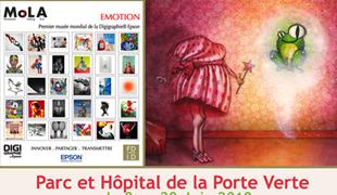 Exposition collective: Musée Mola Hôpital et Parc de la Porte Verte du 8 au 29 Juin 2018