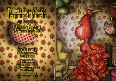 Exposition personnelle: Galerie Espora – Madrid – Espagne du 08 Novembre au 05 Decembre 2009