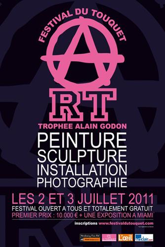 Exposition collective: Festival du Touquet – Prix Alain Godon – France du 02 au 03 Juillet 2011