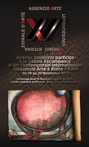 Exposition collective: Massenzio Arte – Rome – Italie du 10 au 20 Novembre 2011