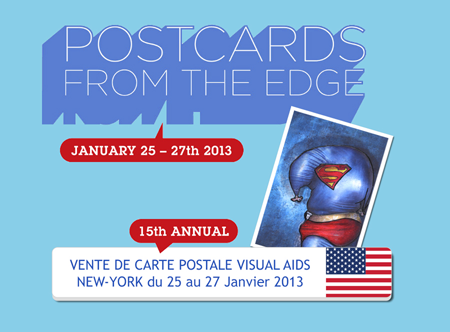 Exposition collective: Vente Visual Aids – New-York – USA du 25 au 27 Janvier 2013