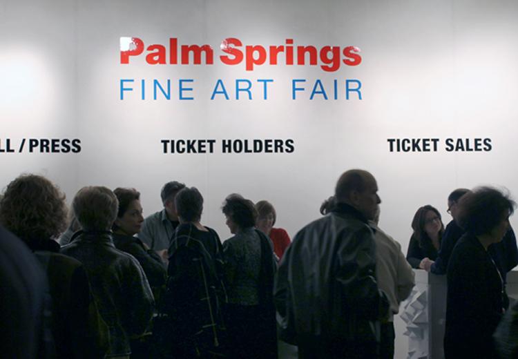 Exposition palm springs art fair californie usa en 2014 for Palm springs craft fair