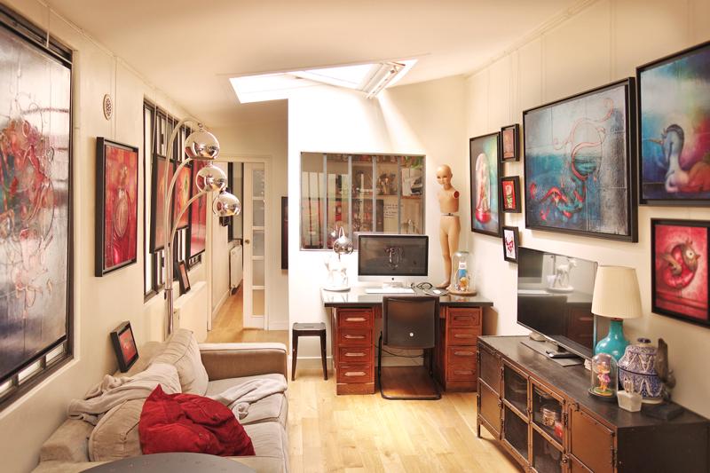 Exposition portes ouvertes de mon atelier 2016 paris en - Atelier artiste peintre ...