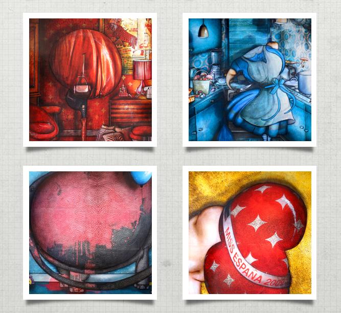 Oeuvres de Jeremie Baldocchi peintre contemporain