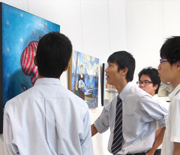 Exposition au Japon du peintre contemporain Jeremie Baldocchi