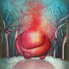 Peinture: Évaporation d'éléphant