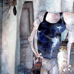 Peinture:Autoportrait en travaux