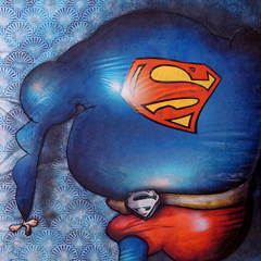 Peinture:Superman (version 1)