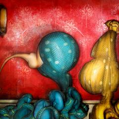 Peinture: Deux Sévillanes