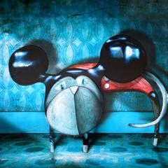 Peinture:Chat déguisé