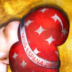 Peinture:Miss Espagne 2009