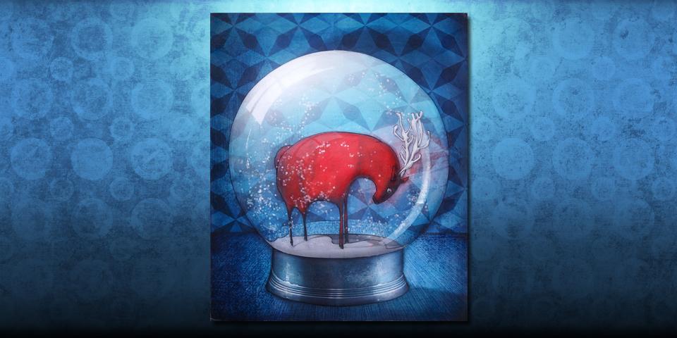 Tableau: Boule de neige