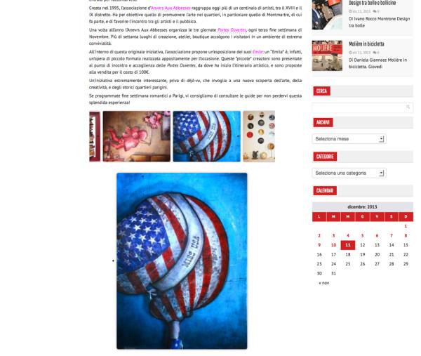 Site internet Fashion News Magazine
