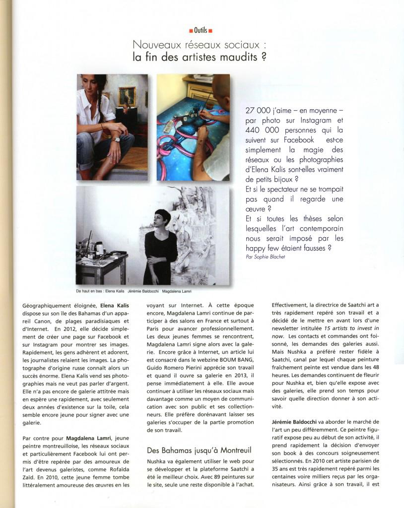 Magazine art contemporain Artention