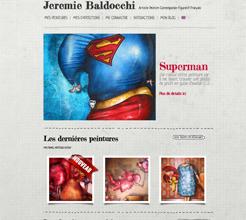 Site internet de Jeremie Baldocchi peintre contemporain