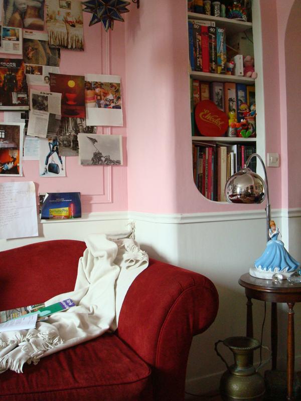 Atelier d'artiste du peintre contemporain Jérémie Baldocchi, de 2004 à 2013