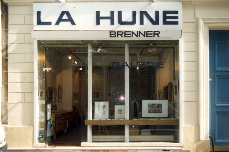 Exposition collective Galerie La Hune – Brenner – Paris du 09 au 30 Avril 2002