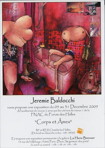 Exposition personnelle: Fnac Forum des Halles – Paris du 05 au 31 Decembre 2005