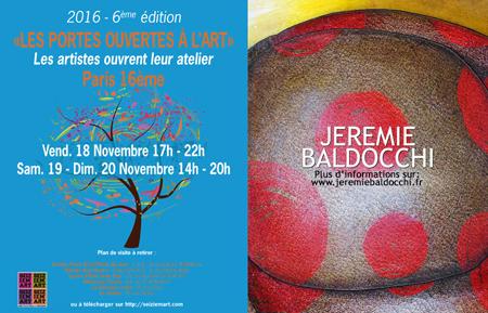Exposition collective: Exposition collective avec Seiziem'Art du 15 Novembre au 1er Décembre 2016