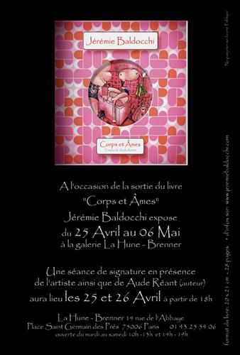Exposition personnelle: Galerie La Hune – Brenner – Paris du 25 Avril au 06 Mai 2006