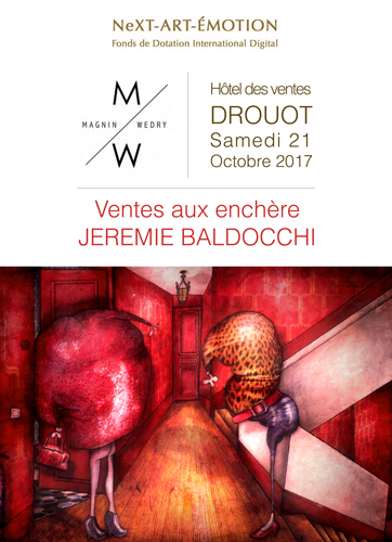 Exposition collective: Vente aux enchères à l'hôtel des ventes Drouot le 21 octobre 2017