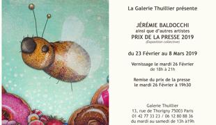 Exposition collective: Prix de la Presse – Galerie Thuillier du 23 Fevrier au 08 Mars 2019