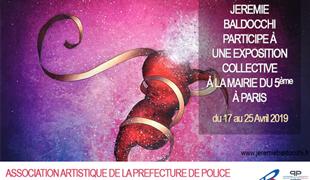 Exposition collective: Mairie du 5ème – Paris du 17 au 25 Avril 2019