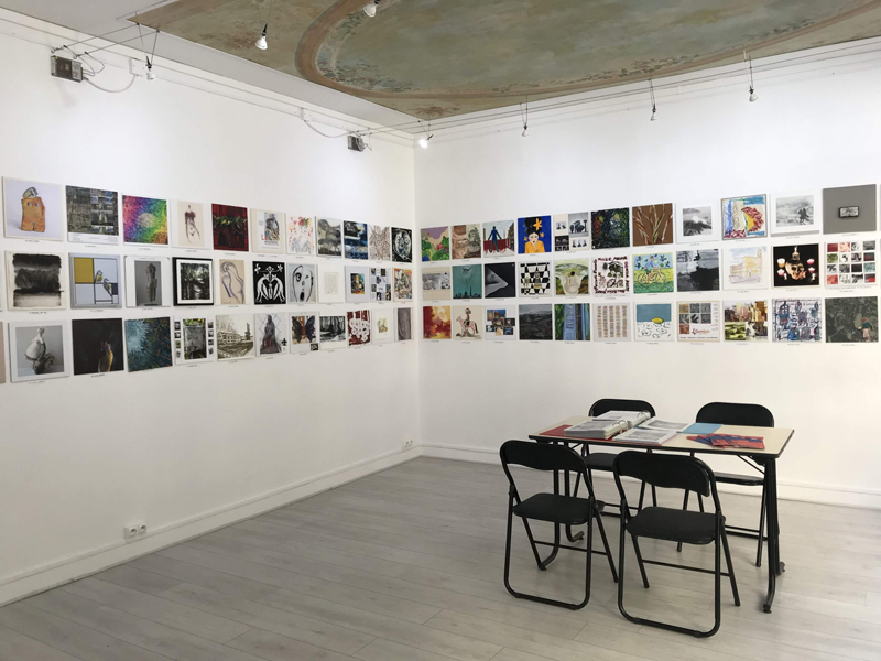Exposition collective Galerie Ménil'8 – Paris du 26 au 29 Septembre 2019