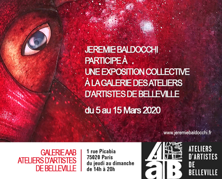 Exposition collective: Exposition collective à la Galerie AAB du 05 au 15 Mars 2020