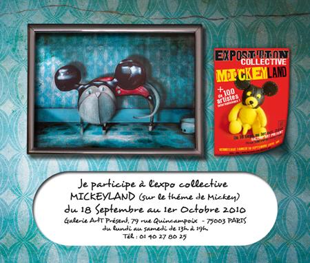 Exposition collective: Galerie Art Présent – Paris du 18 Septembre au 1er Octobre 2010