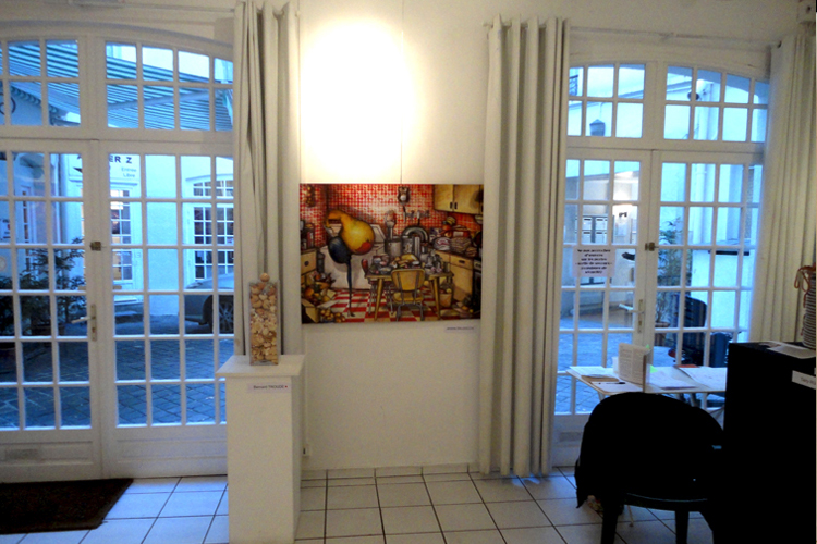 Exposition collective Galerie Atelier Z – Paris du 02 au 11 Mars 2011