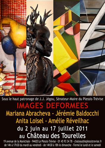 Exposition collective: Château des Tourelles – Le Plessis-Trévise – France du 02 Juin au 17 Juillet 2011