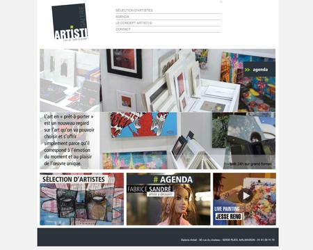 Exposition collective: Galerie Artisti – Rueil-Malmaison – France de Septembre à Octobre 2011