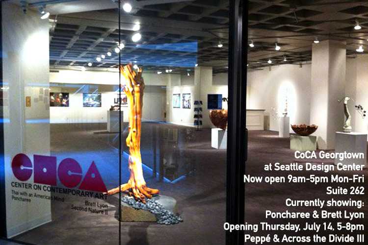 Exposition collective Centre d'Art Contemporain de Seattle – USA du 29 Decembre 2011 au 18 Mars 2012
