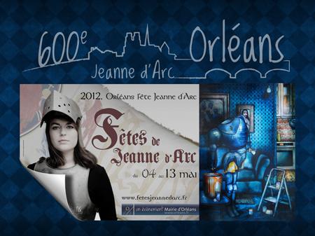 Exposition collective: Anniversaire des 600 ans de Jeanne d'Arc à Orléans – France du 04 au 13 Mai 2012