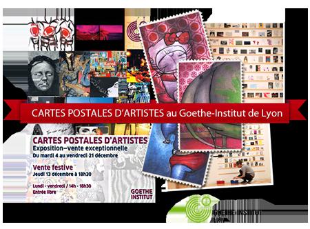 Exposition collective: Goethe Institut – Lyon – France du 04 au 21 Décembre 2012