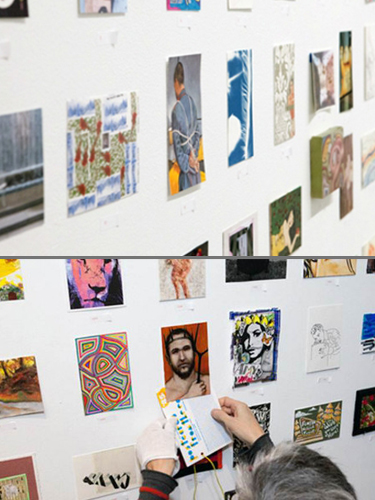 Exposition collective Vente Visual Aids – New-York – USA du 25 au 27 Janvier 2013