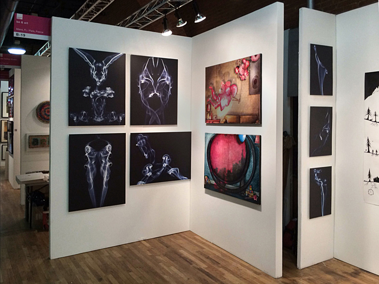 Exposition collective Foire Affordable Art Fair – New-York – USA du 03 au 06 Octobre 2013