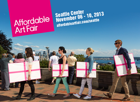 Exposition collective: Foire Affordable Art Fair – Seattle – USA du 07 au 10 Novembre 2013