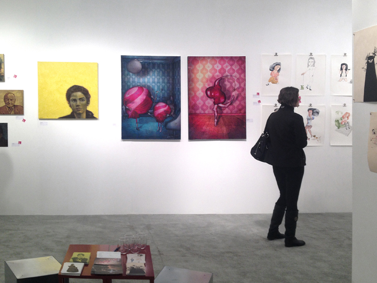 Exposition collective Foire Affordable Art Fair – Seattle – USA du 07 au 10 Novembre 2013