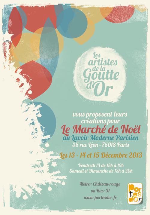 Exposition collective: Lavoir Moderne Parisien les 13, 14 et 15 Décembre 2013