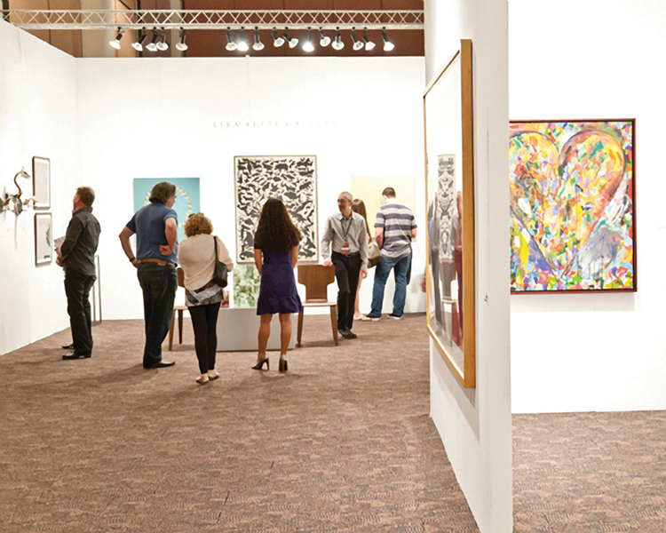 Exposition collective Palm Springs Art fair Californie – USA du 14 au 16 Fevrier 2014