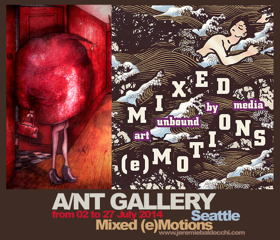 Exposition collective: Galerie  A/NT – Seattle – USA du 02 au 27 Juillet 2014