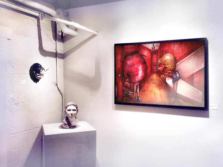 Exposition collective Galerie  A/NT – Seattle – USA du 02 au 27 Juillet 2014