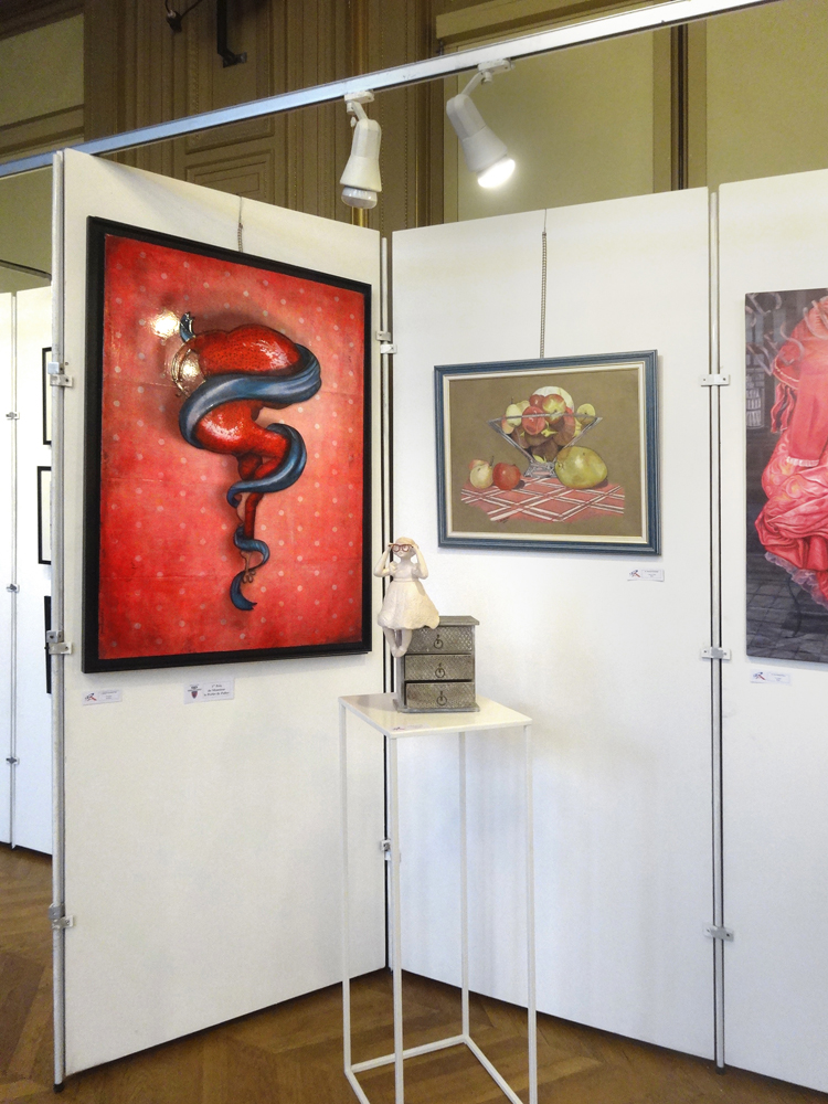 Exposition collective Mairie du 6ème – Paris du 17 au 26 Novembre 2014