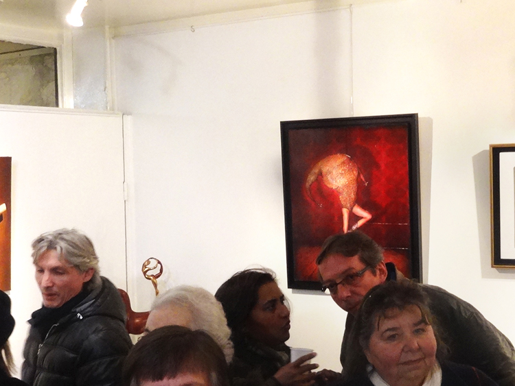 Exposition collective Galerie Thuillier – Paris du 03 au 26 Fevrier 2015