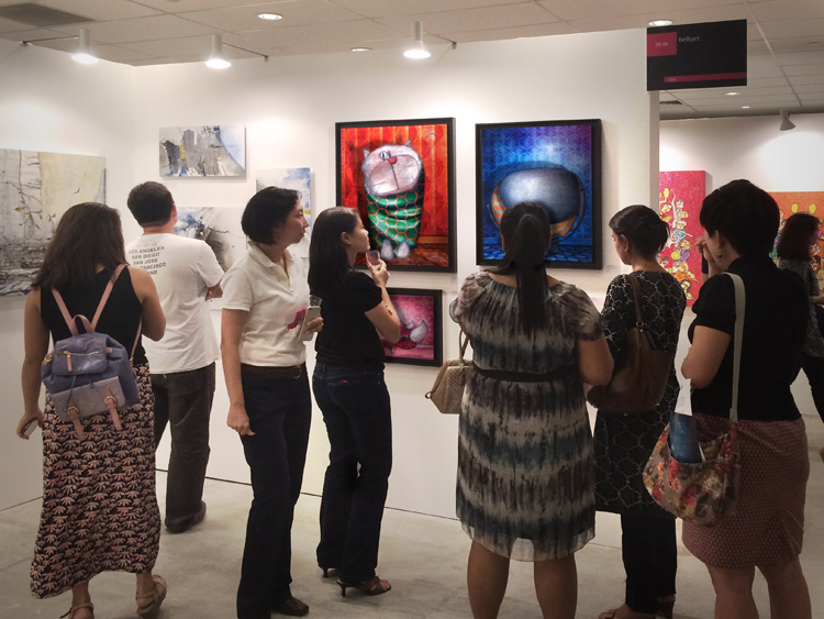 Exposition collective Foire Affordable Art Fair – Singapour – Asie du 17 au 19 Avril 2015